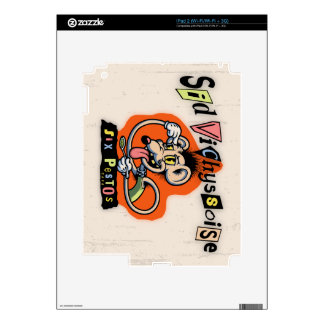 Sid Vichyssoise Decals For The iPad 2