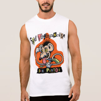 Sid Vichyssoise Sleeveless Shirt