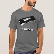 SID Wizard 8bit T-Shirt Commodore MOS