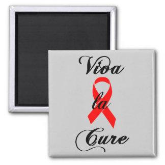 SIDA de la cinta de la curación del la de Viva y Imán Cuadrado