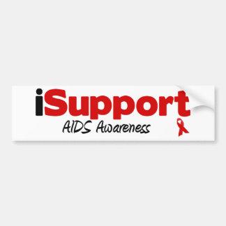 SIDA del iSupport Etiqueta De Parachoque