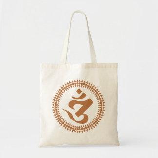 Siddham Om Small Tote Bag