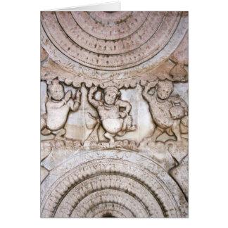 Siddharta Ancient Carving Card