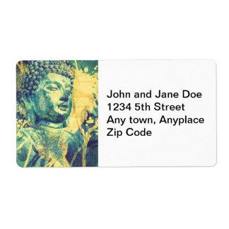 Siddhartha Buda Etiquetas De Envío