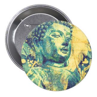 Siddhartha Buda Pin Redondo 7 Cm