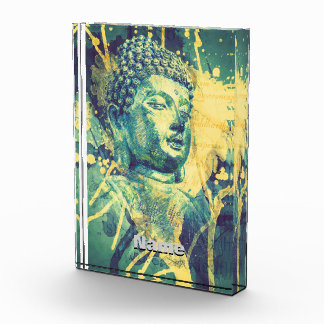 Siddhartha Buddha Acrylic Award