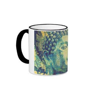 Siddhartha Buddha Ringer Coffee Mug