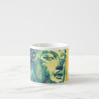 Siddhartha Buddha 6 Oz Ceramic Espresso Cup