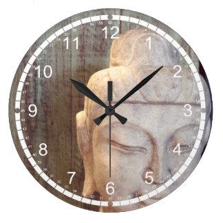 Siddhartha Gautama Photo Large Clock