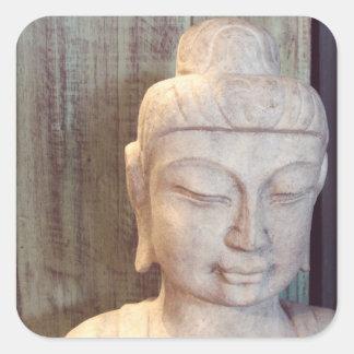 Siddhartha Gautama Photo Square Sticker