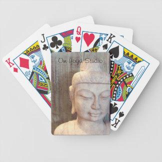Siddhartha Gautama Statue Bicycle Playing Cards