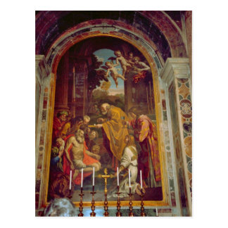 Side altar in St Peter s Basilica Post Card