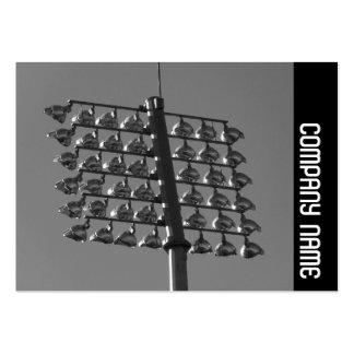 Side Band - Flood Lights (B&W) Large Business Card