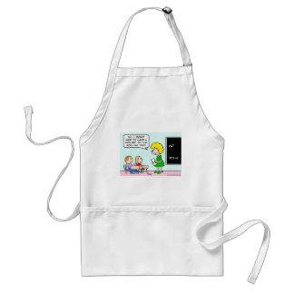 side bet spelling test school teacher adult apron