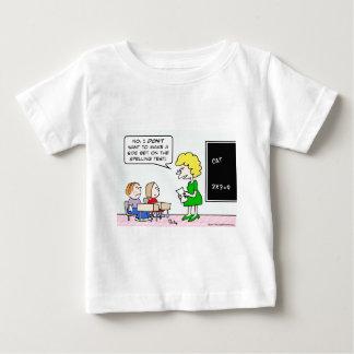 side bet spelling test school teacher baby T-Shirt