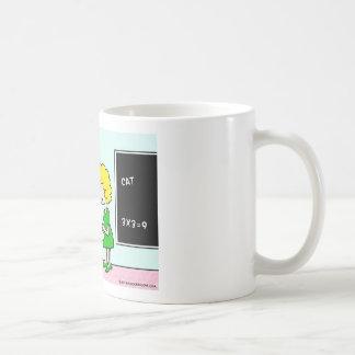 side bet spelling test school teacher coffee mug