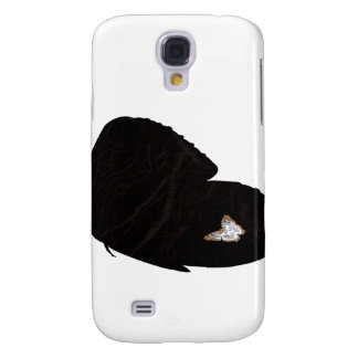 Side butterfly shape with moth pic samsung galaxy s4 cases