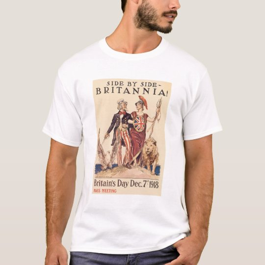 """""""Side By Side - Britaniania"""" T-Shirt"""