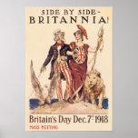 Side By Side Britannia Print