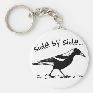 Side by Side Keychain