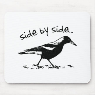 Side by Side Mouse Pad