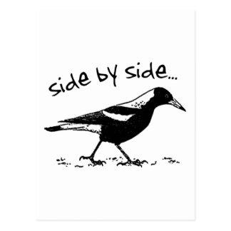 Side by Side Postcard