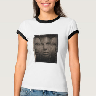 Side By Side-self portrait on metal-by KLM T-Shirt
