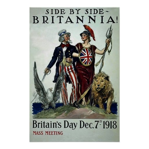 Side by Side~Vintage World War 1 Posters
