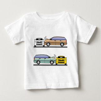 Side car crash baby T-Shirt