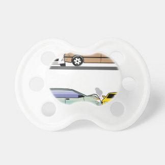 Side car crash pacifier