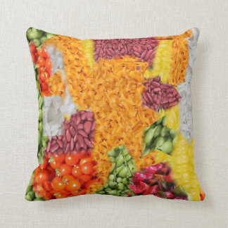 side dishes throw pillow