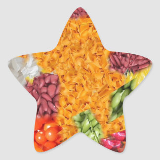 side dishes star stickers