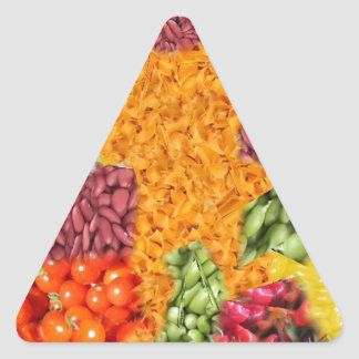 side dishes triangle stickers