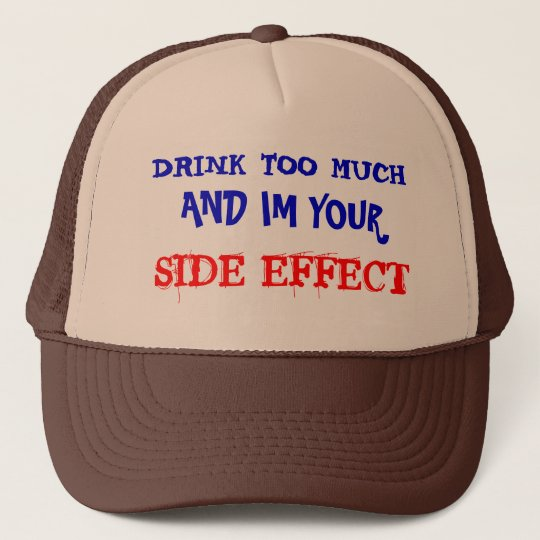 SIDE EFFECT. TRUCKER HAT