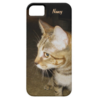 Side Faced Cat iPhone SE/5/5s Case
