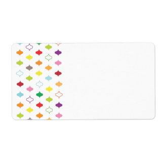 Side Frame Organizing ColorMotif Label