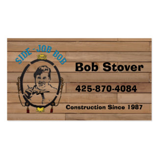 Side Job Bob's Business Cards