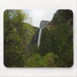 Side of Bridalveil Falls at Yosemite National Park Mouse Pad