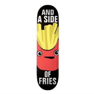 Side of Fries Custom Skate Board