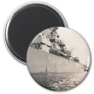 side of military navy ship magnet