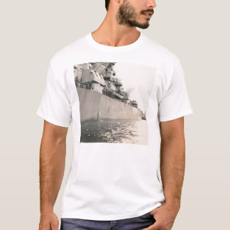 side of military navy ship shirt