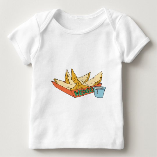 side of potato wedges baby T-Shirt