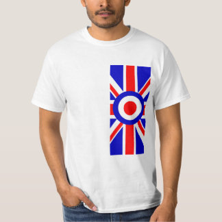 Side on Union Flag with Mod Target T-shirt