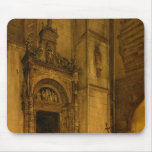 Side portal of Como Cathedral, 1850 Mouse Pad
