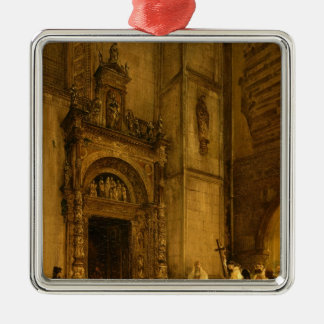 Side portal of Como Cathedral, 1850 Christmas Tree Ornaments