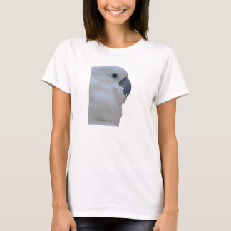 Side Portrait Of A Blue-Eyed Cockatoo Isolated T-Shirt