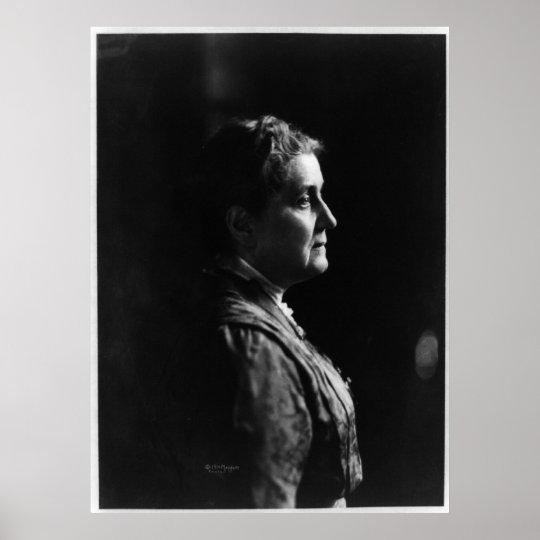 Side Portrait of Jane Addams Poster
