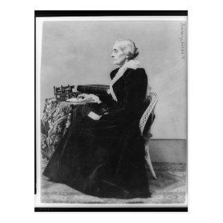 Side Portrait of Suffragette Susan B. Anthony Postcard