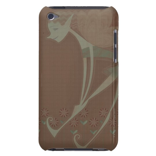 Side profile of a fairy flying iPod Case-Mate case