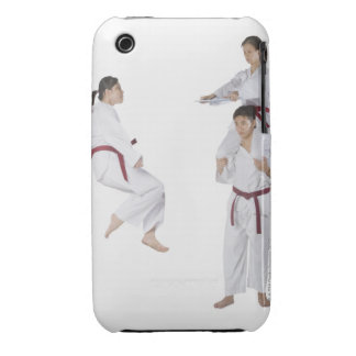Side profile of a young man practicing 2 Case-Mate iPhone 3 case